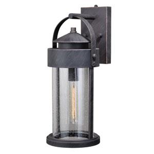 Cumberland Rust Iron 8-Inch One-Light Outdoor Wall Light