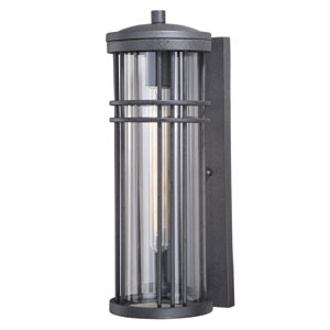 Wrightwood Vintage Black 17-Inch One-Light Outdoor Wall Light