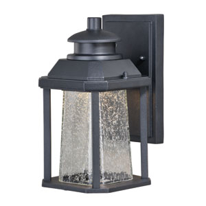 Freeport Textured Black 5.5-Inch LED Outdoor Wall Light
