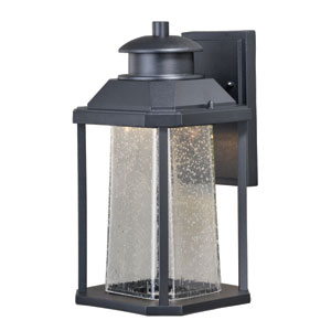 Freeport Textured Black 7.5-Inch LED Outdoor Wall Light