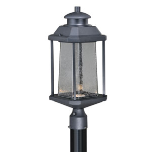 Freeport Textured Black 9-Inch LED Outdoor Post Light