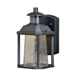 Freeport Dualux Textured Black 5.5-Inch LED Outdoor Wall Light