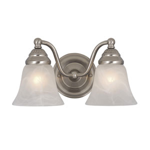 Standford Brushed Nickel Two-Light Vanity