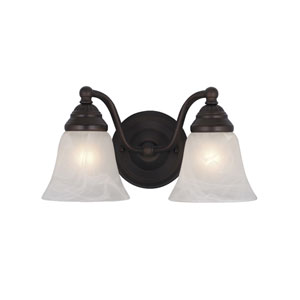Standford Oil Burnished Bronze Two-Light Vanity