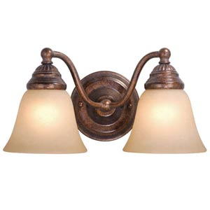 Standford Two-Light Bath Fixture