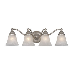 Standford Brushed Nickel Four-Light Vanity