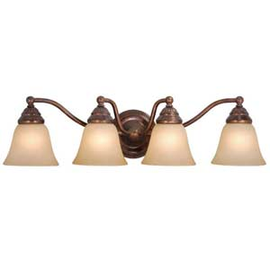 Standford Four-Light Bath Fixture