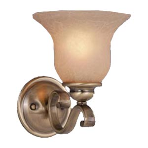 Monrovia Antique Brass One-Light Wall Sconce