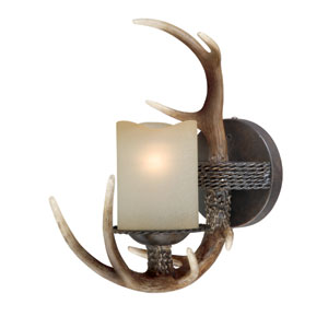 Yoho Black Walnut Wall Vanity Light