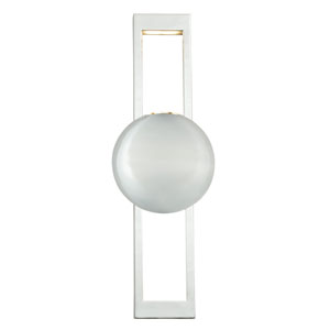 Aline Polished Nickel LED Wall Sconce