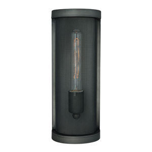 Wicker Park Warm Pewter One-Light Wall Sconce