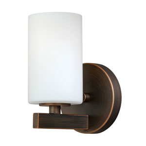 Glendale Sienna Bronze One-Light Vanity