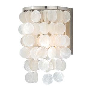 Elsa Satin Nickel One-Light Wall Sconce