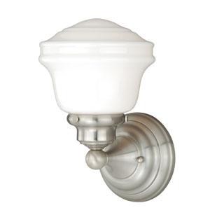 Huntley Satin Nickel One-Light Vanity Fixture