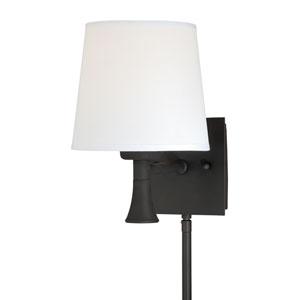 Chapeau New Bronze One-Light Sensor Wall Sconce
