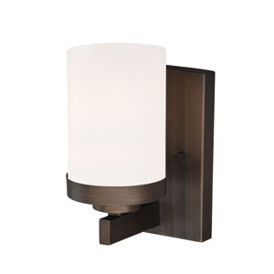Sorin Architectural Bronze One-Light Bath Fixture