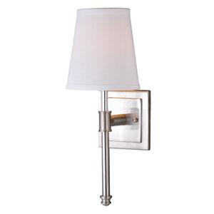 Ritz Satin Nickel One-Light Vanity