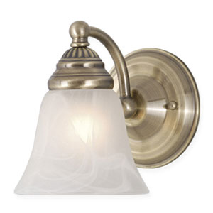 Stanford Antique Brass Wall Light