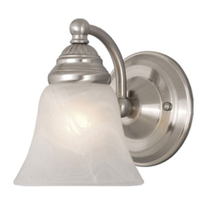 Stanford Brushed Nickel Wall Light