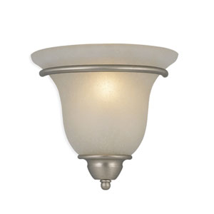 Monrovia Brushed Nickel Wall Sconce