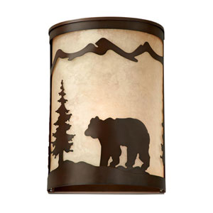 Bozeman Burnished Bronze 8-Inch Wall Sconce