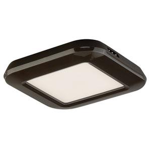 Bronze One-Light LED Low Profile Undercabinet Puck Light