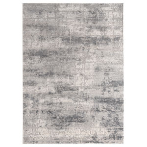 Cascades Gray Rectangular 7 Ft. 10 Inch x 10 Ft. 6 Inch Rug