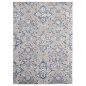 Cascades Blue Rectangular 7 Ft. 10 Inch x 10 Ft. 6 Inch Rug