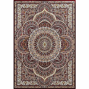 Antiquities Sarouk Ruby Rectangular: 5 Ft. 3 In x 7 Ft. 2 In. Rug