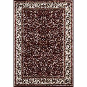 Antiquities Isphahan Ruby Rectangular: 5 Ft. 3 In x 7 Ft. 2 In. Rug
