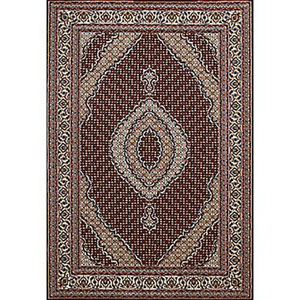 Antiquities Kashan Ruby Rectangular: 5 Ft. 3 In x 7 Ft. 2 In. Rug