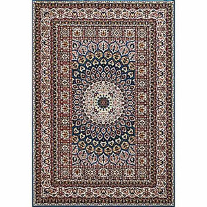 Antiquities Jaipur Cerulean Rectangular: 5 Ft. 3 In x 7 Ft. 2 In. Rug