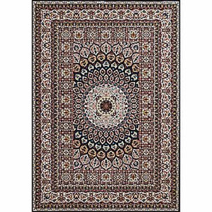 Antiquities Jaipur Navy Rectangular: 5 Ft. 3 In x 7 Ft. 2 In. Rug