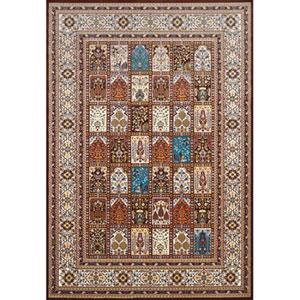 Antiquities Mecca Dark Brown Rectangular: 7 Ft. 10 In. x 10 Ft. 6 In. Rug