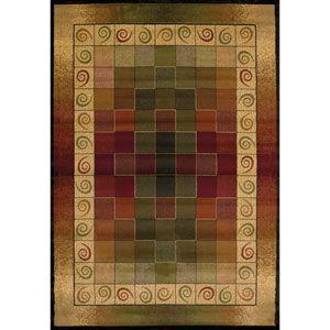 Genesis Montage Multicolor Rectangular: 7 Ft 10 In x 10 Ft 6 In Rug