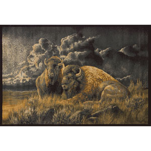 Wild Wings Distant Thunder Rectangular: 7 Ft. 10 In. x 10 Ft. 6 In.