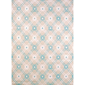 Regional Concepts Trellis Blue Rectangular: 2 Ft 7 In x 3 Ft 11 In Rug