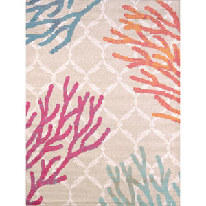 Regional Concepts Tropical Reef Rectangular: 1 Ft 10 In x 3 Ft Rug