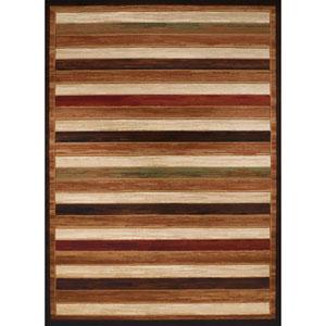 Studio Painted Brown Rectangular: 1 Ft. 10 In. x 3 Ft. Rug