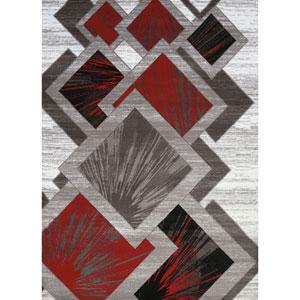 Studio Flash Scarlet Rectangular: 1 Ft. 10 In. x 3 Ft. Rug