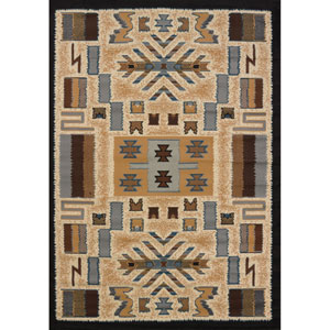 Pelham Manhattan Gray Rectangular: 3 Ft. 11-Inch x 5 Ft. 3-Inch  Rug