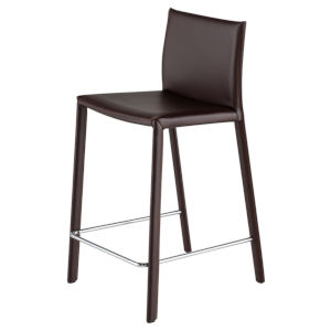 Bridget Brown Counter Stool
