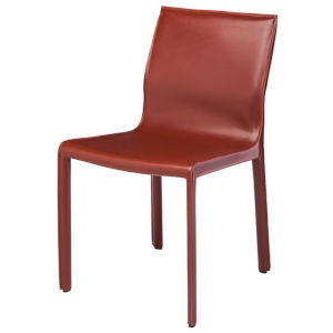 Colter Bordeaux Armless Dining Chair