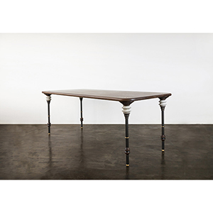 Kimbell Matte Smoked Dining Table