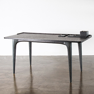 Salk Matte Seared Desk