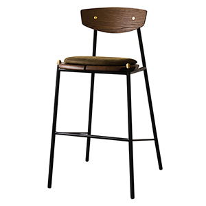 Kink Matte Jin Green Bar Stool
