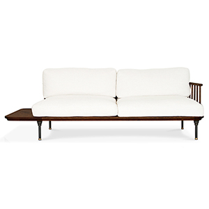 Distrikt Smoked Oak Triple Seat Sofa