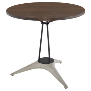Kahn Brown and Gray Bistro Table