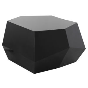 Gio Laquered Black Coffee Table