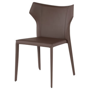 Wayne Dark Brown Dining Chair